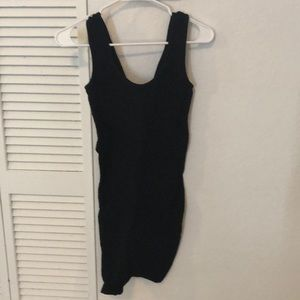 BCBGeneration black dress with tag. Size xs/s.